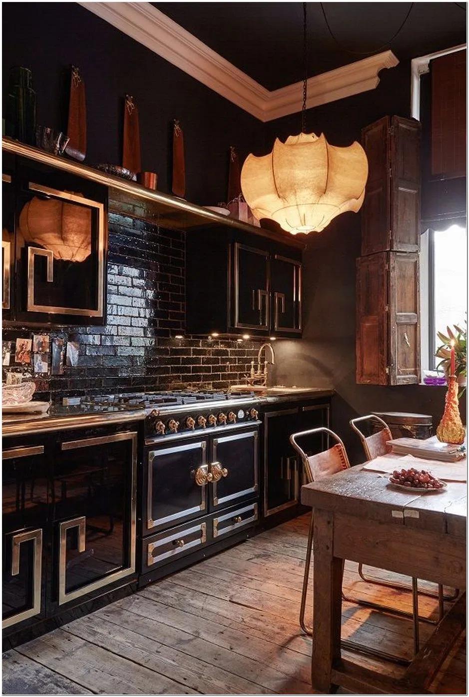 65 Designing An Edwardian Style Kitchen 19 Hersham Maximalist Interior Design Glam Apartment