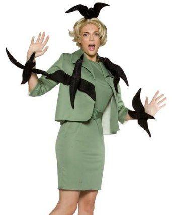Hitchcock theme Cute Costume Ideas Pinterest Birthdays - green dress halloween costume ideas