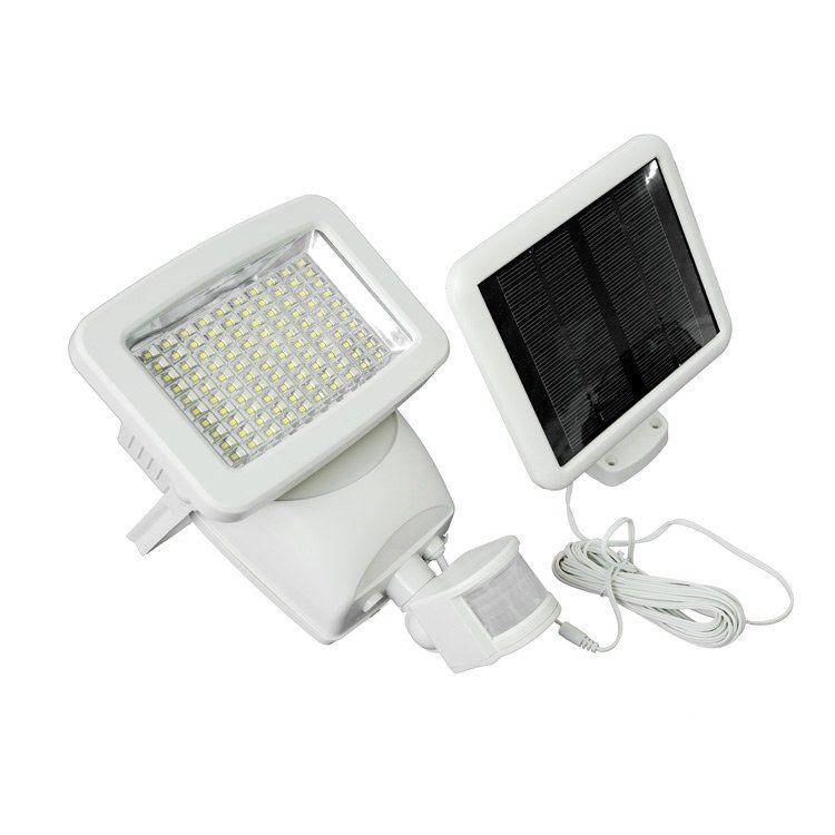 Solar Motion Sensor Security Light In 2021 Solar Security Light Security Lights Solar Powered Security Light