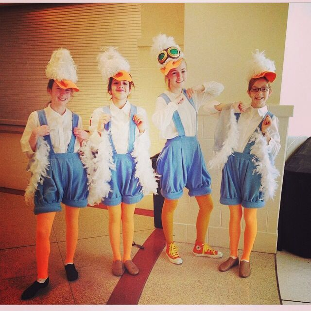 Scuttle And Birds Little Mermaid Costumes The Little Mermaid