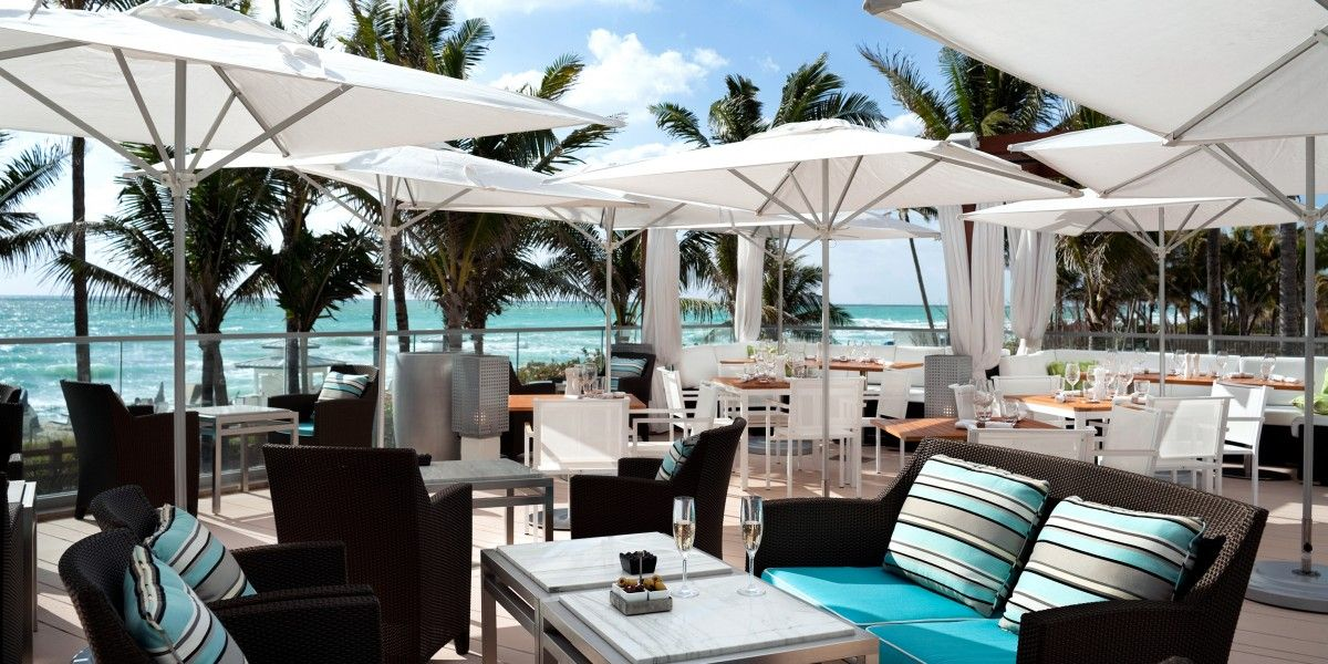 Fontainebleau Miami Beach Florida Inspired By The Lifestyle Of Côte D Azur La Cote Is Place For An Al Fresco Feast