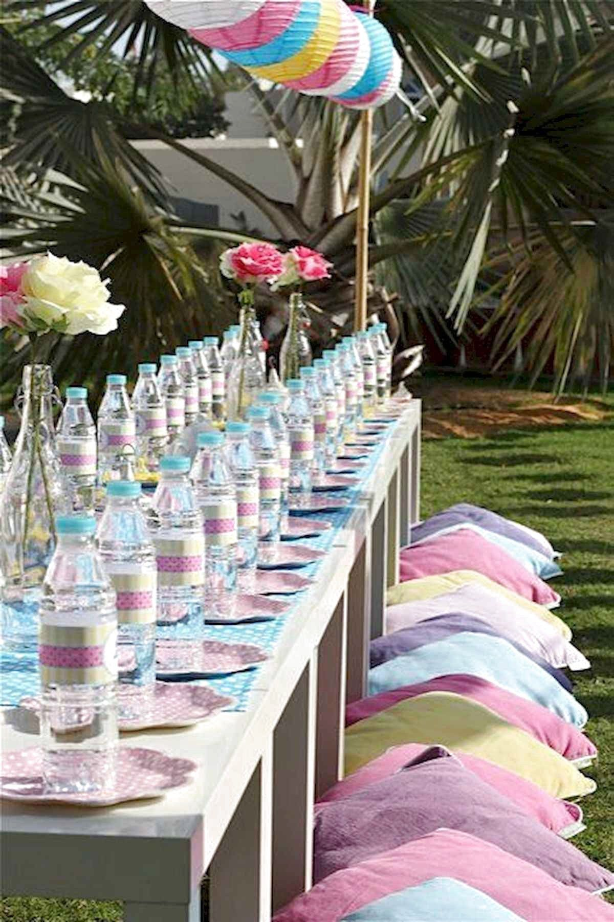63 Cool Outdoor Summer Party Decorations Ideas Summer Party