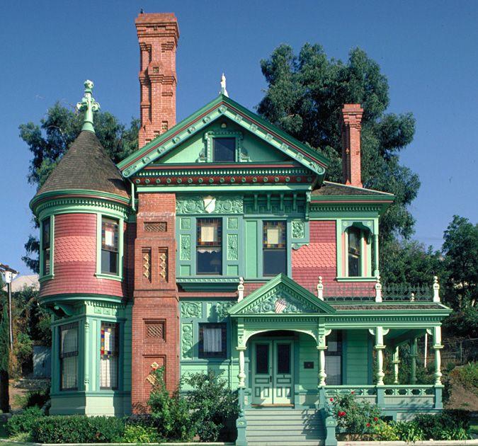 Los Angeles California Houses: Ca13 Hale House Los Angeles Ca