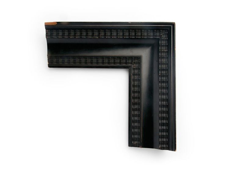 Polished Black Dutch A 4 inch Dutch-style frame, with outer and ...
