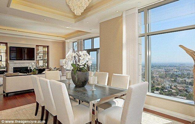 High Rise Apartment Inside a look inside yolanda foster's downsized la apartment | condos