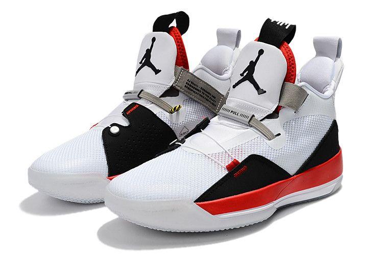 "918af936fa6d0a Air Jordan 33 ""Fire Red"" White Fire Red-Black Price in 2019"