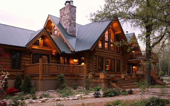 Hausfassaden Ideen rustikale holzfassade hausfassaden ideen architektur moderne