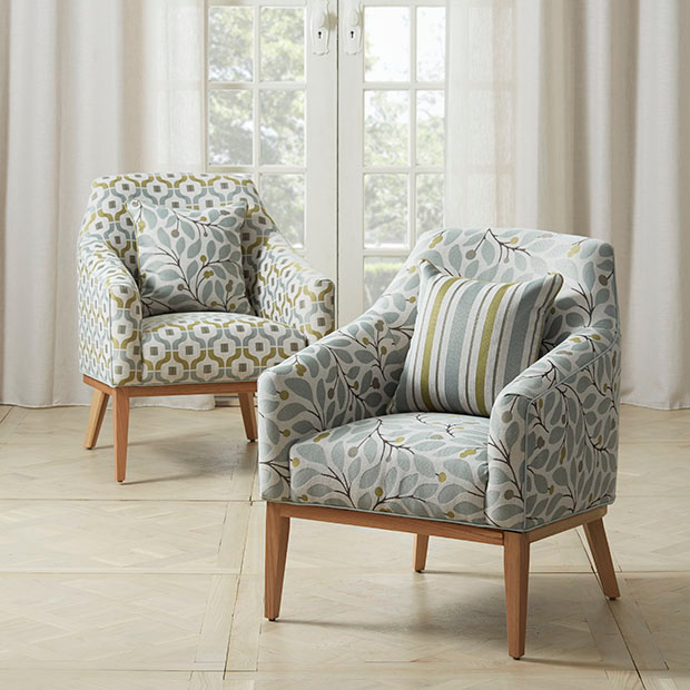 Warwick Fabrics Gosford Collection Armchairs Cushions