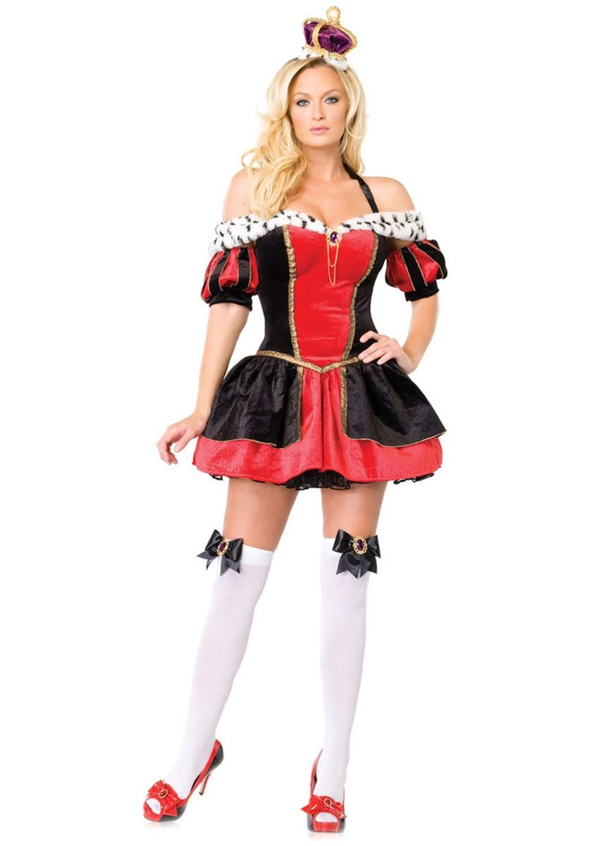 a26203a2ef Royal Queen Costume - Leg Avenue - Leg Avenue Costumes at Escapade