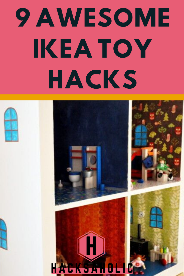 You can make almost anything with an Ikea hack and these Ikea toy hacks demonstrate that you can even make toys! #ikeatoyhacks #ikeatoys #ideas #toys #diytoys #hacksaholic