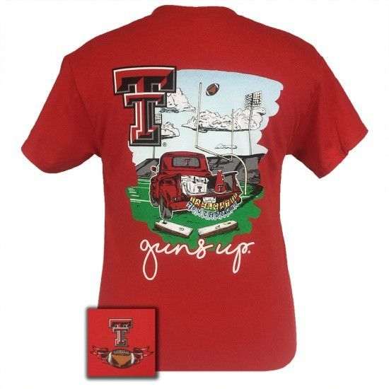 Texas Tech Red Raiders Tailgates & Touchdowns Party T-ShirtMore Pins Like This At FOSTERGINGER @ Pinterest