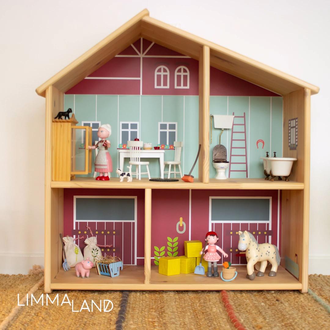Neue Ideen für dein IKEA Puppenhaus.