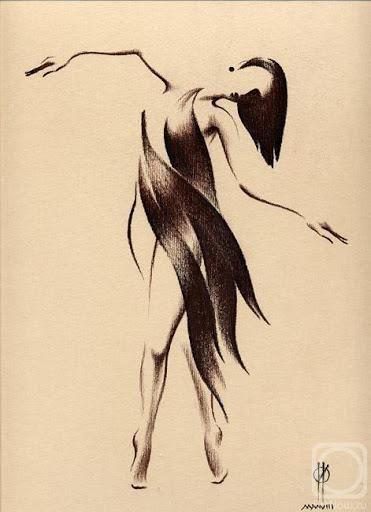 Dibujo bailarina  ideas tatoos  Pinterest  Dibujo bailarina