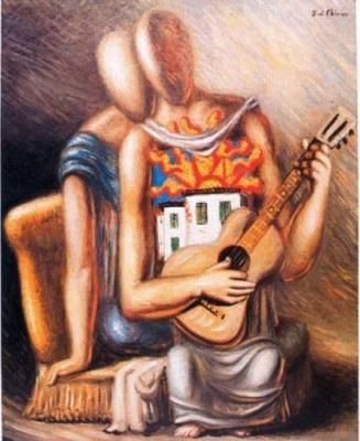 Canzone Meridionale    by Giorgio de Chirico