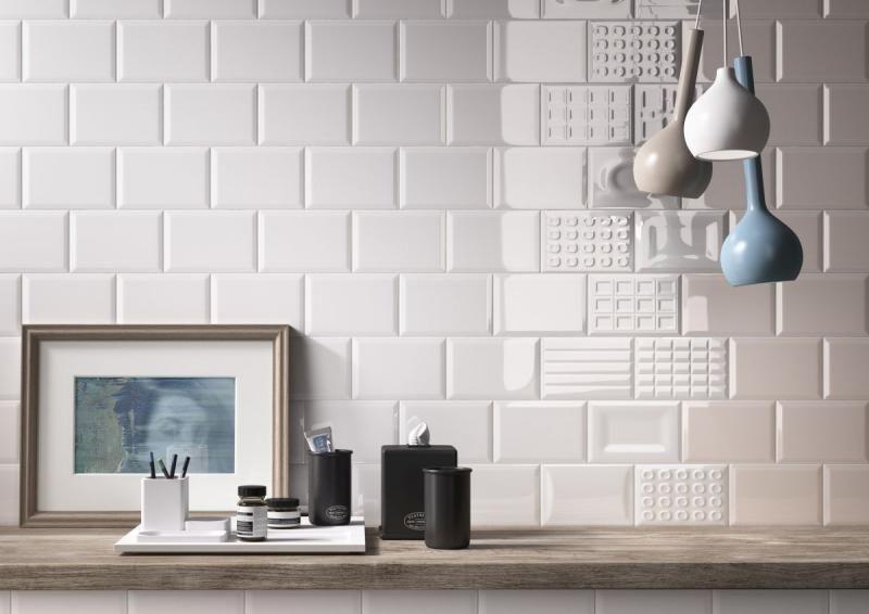 Cento Per Cento Cacao W 12x18 Kitchen Tile Inspiration White Wall Tiles Wall Tiles