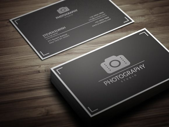 Please Wait Photography Business Cards Business Card Photographer Photographer Business Cards