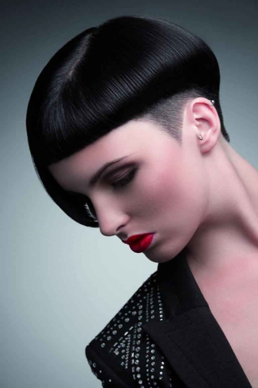 Undercut Asymmetrical Short Bob Haircut 2020 2021