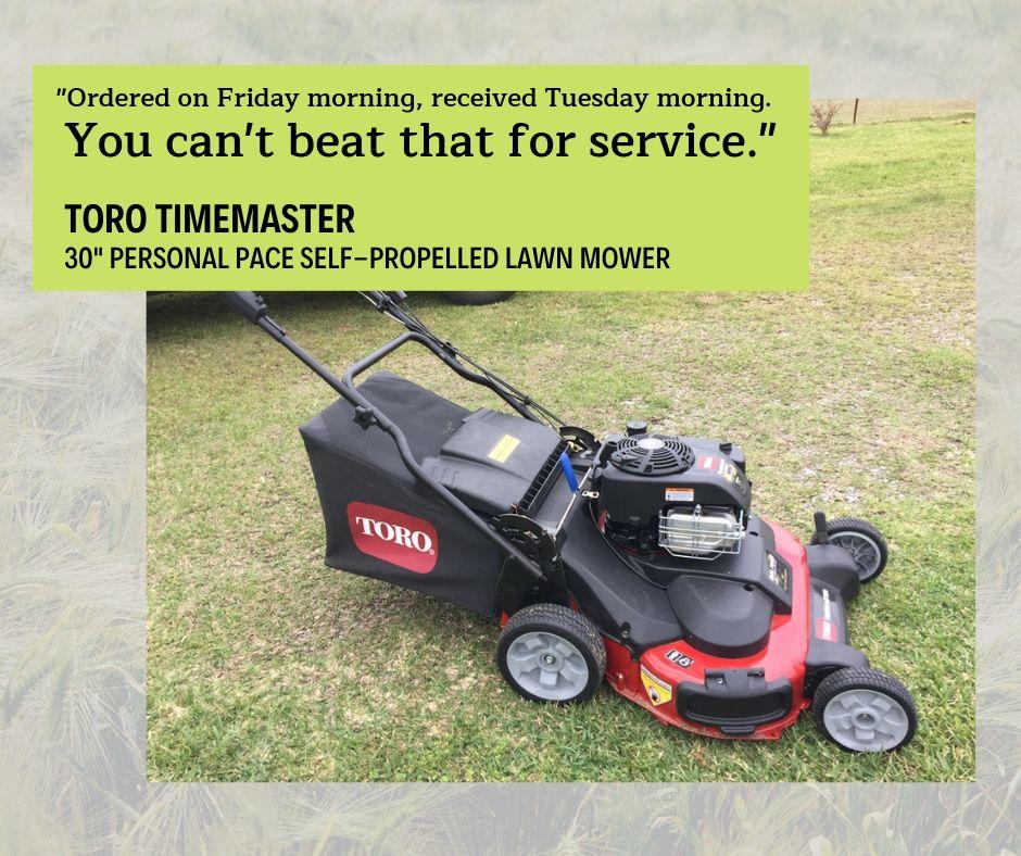 Toro 21199 Timemaster 30 Inch 223cc Personal Pacea Self Propelled Lawn Mower Lawn Mower Mower Toro Mowers