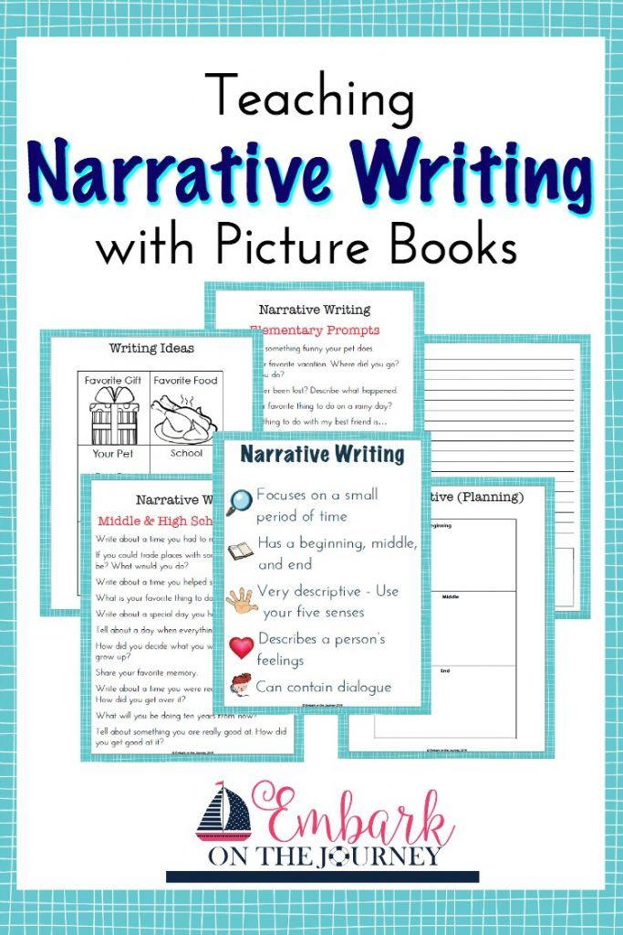 narrative essay for kids