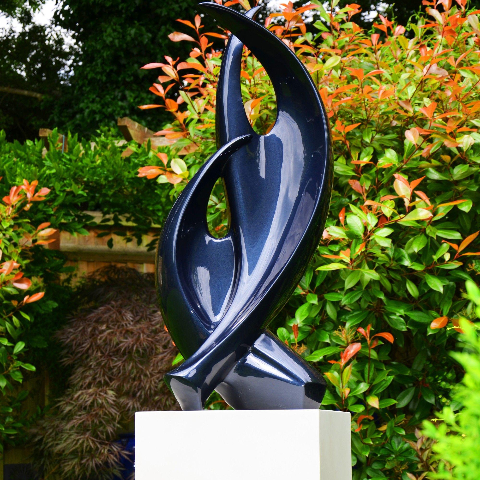 Afficher l\'image source | az | Pinterest | Garden sculptures, Garden ...