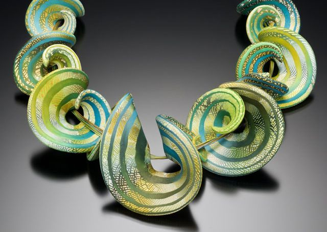polymer clay jewellery by Elise Winters