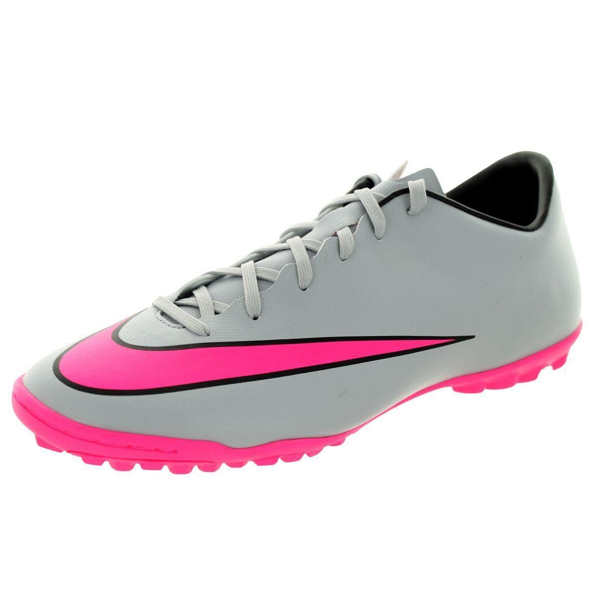 Nike Men's Mercurial Victory V Tf Wolf /Hyper Pink/Black/Black Turf Soccer