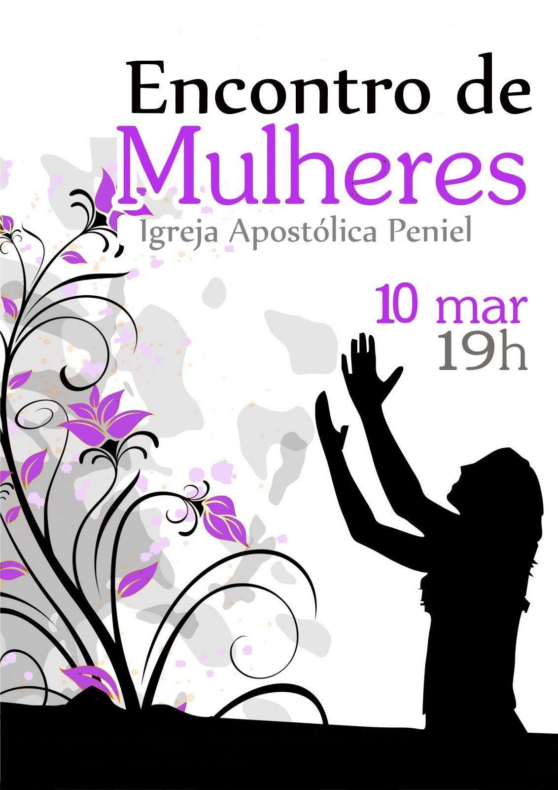 Banner Culto De Mulheres Culto De Mulheres Rede De Mulheres