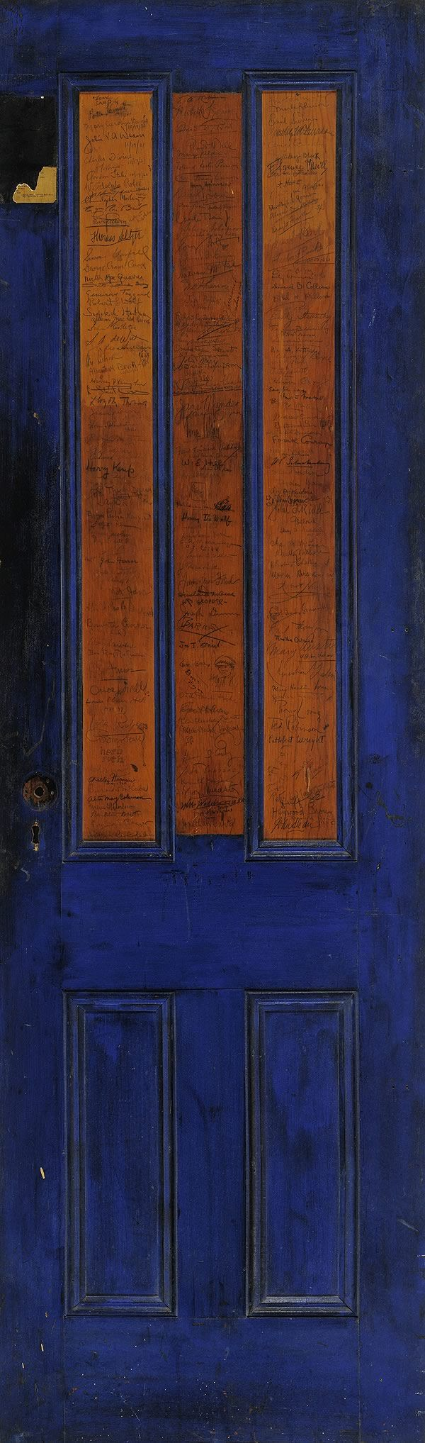 The Greenwich Village Bookshop Door: A Portal to Bohemia 1920-1925.              (Interactive website; you can select specific panels, learn about history of door & discover ~200 artifacts & the shop's notable customers). Very cool....