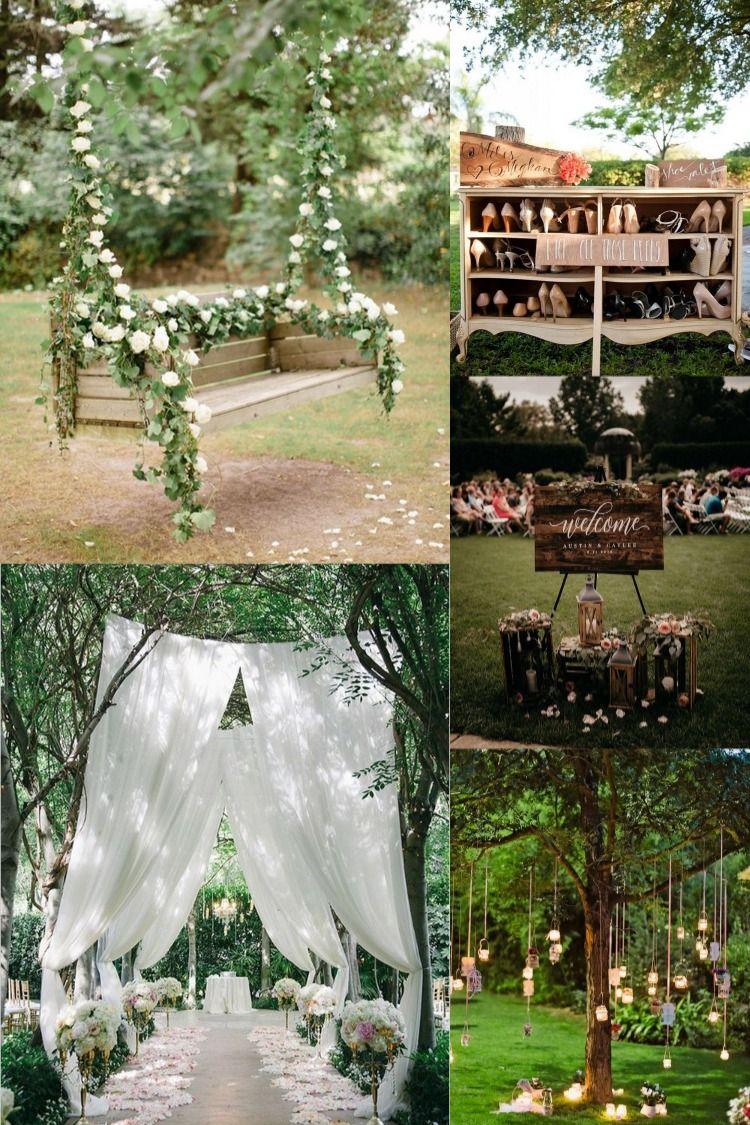 20 Amazing Outdoor Garden Wedding Ideas On A Budget Garden Wedding Ideas On A Budget Garden Wedding Venue Garden Wedding