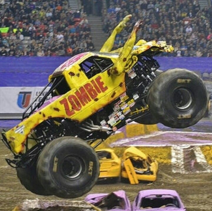 Zombie Monster Trucks Monster Truck Cars Trucks