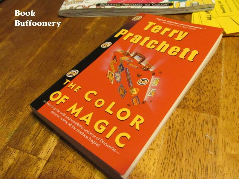 The Color of Magic by Terry Pratchett | Terry pratchett