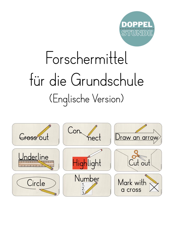 Forschermittel für die Grundschule Englische Version ...