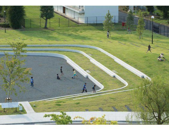 Daaichi 599 11 Mediumprint Campus Landscape Park Landscape Landscape Architecture Design