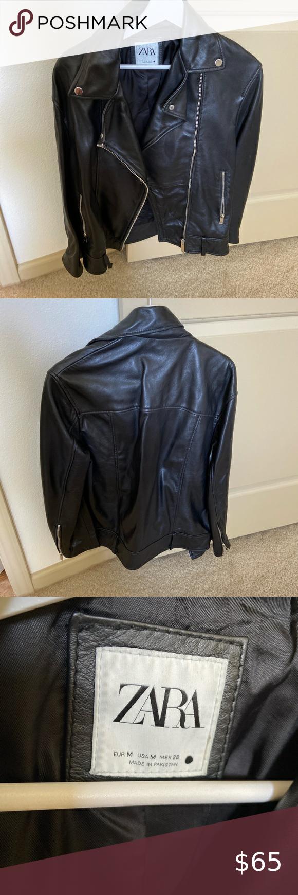 Zara Leather Jacket Zara Leather Jacket Zara Leather Leather [ 1740 x 580 Pixel ]