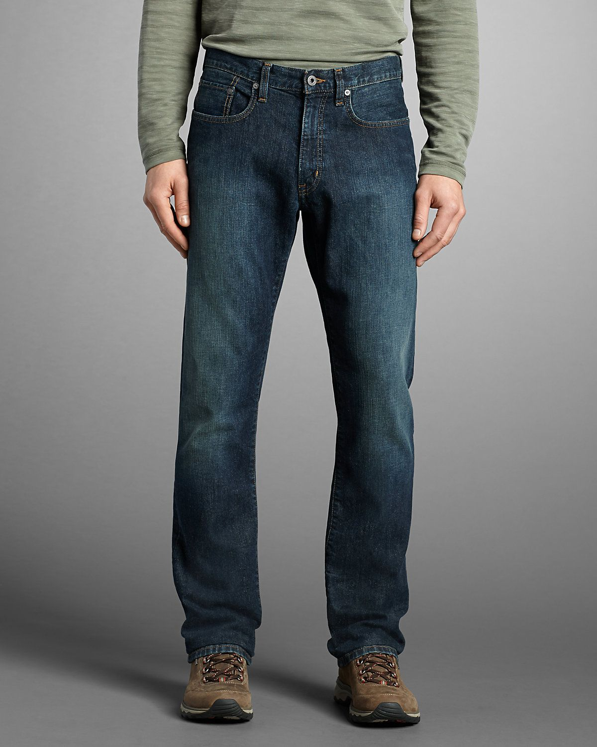 e53a4ee6b355bb Men's Flex Jeans - Straight Fit | | Rugged to classy | Jeans, Jeans ...