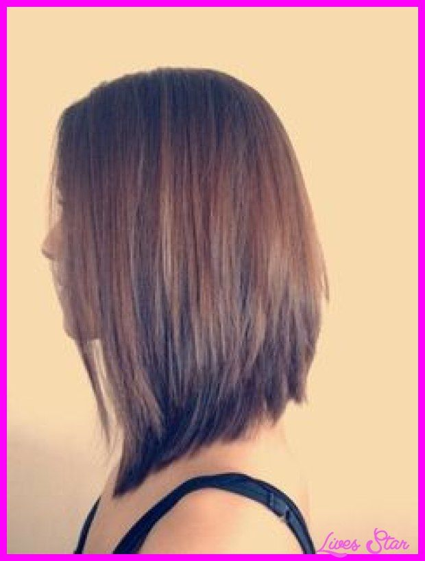 Cool Short In The Back Long Front Haircut Bob Hair Pinterest