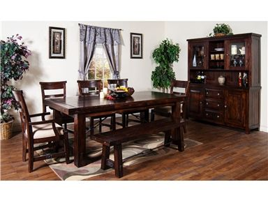 Shop For Sunny Designs Vineyard Extension Table 1316rm And Other Dining Room Dining Table Rustic Kitchen Tables Extension Dining Table Kitchen Table Settings