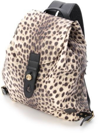 OPAQUE EVER KHAK レオパード柄リュック / leopard backpack on ShopStyle