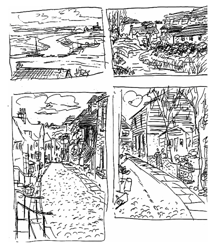 Walt Stanchfield gesture drawing