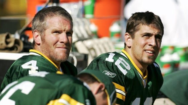 Brett Favre Thinks Aaron Rodgers Will Break His Records Green Bay Packers Funny Packers Green Bay Packers