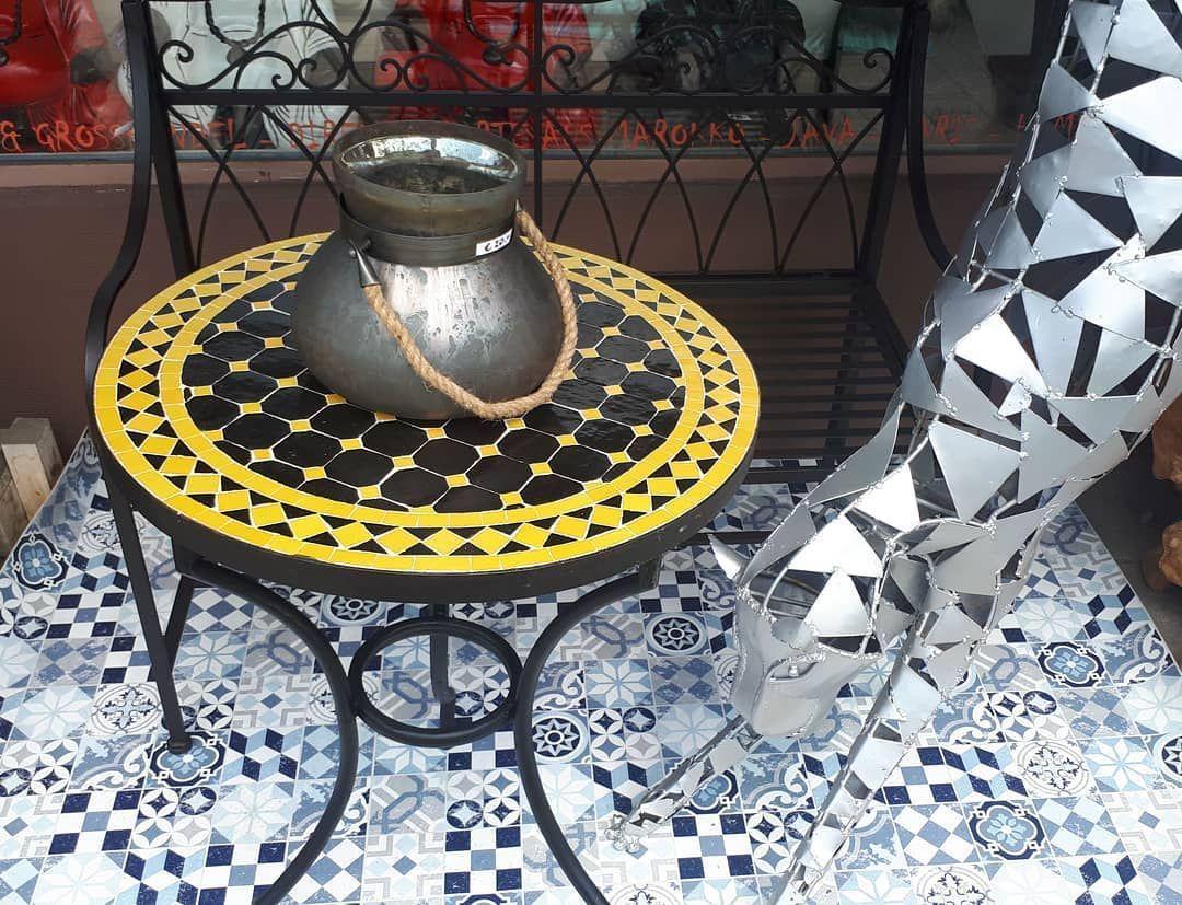 Atelierdessuedens Mosaik Tische Gartentische Tisch