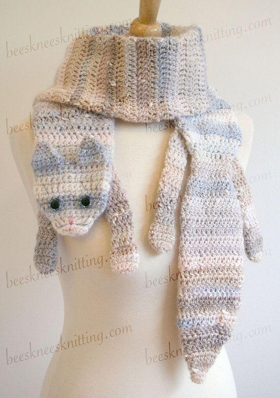 Digital PDF Crochet Pattern for Calico Cat by BeesKneesKnitting ...