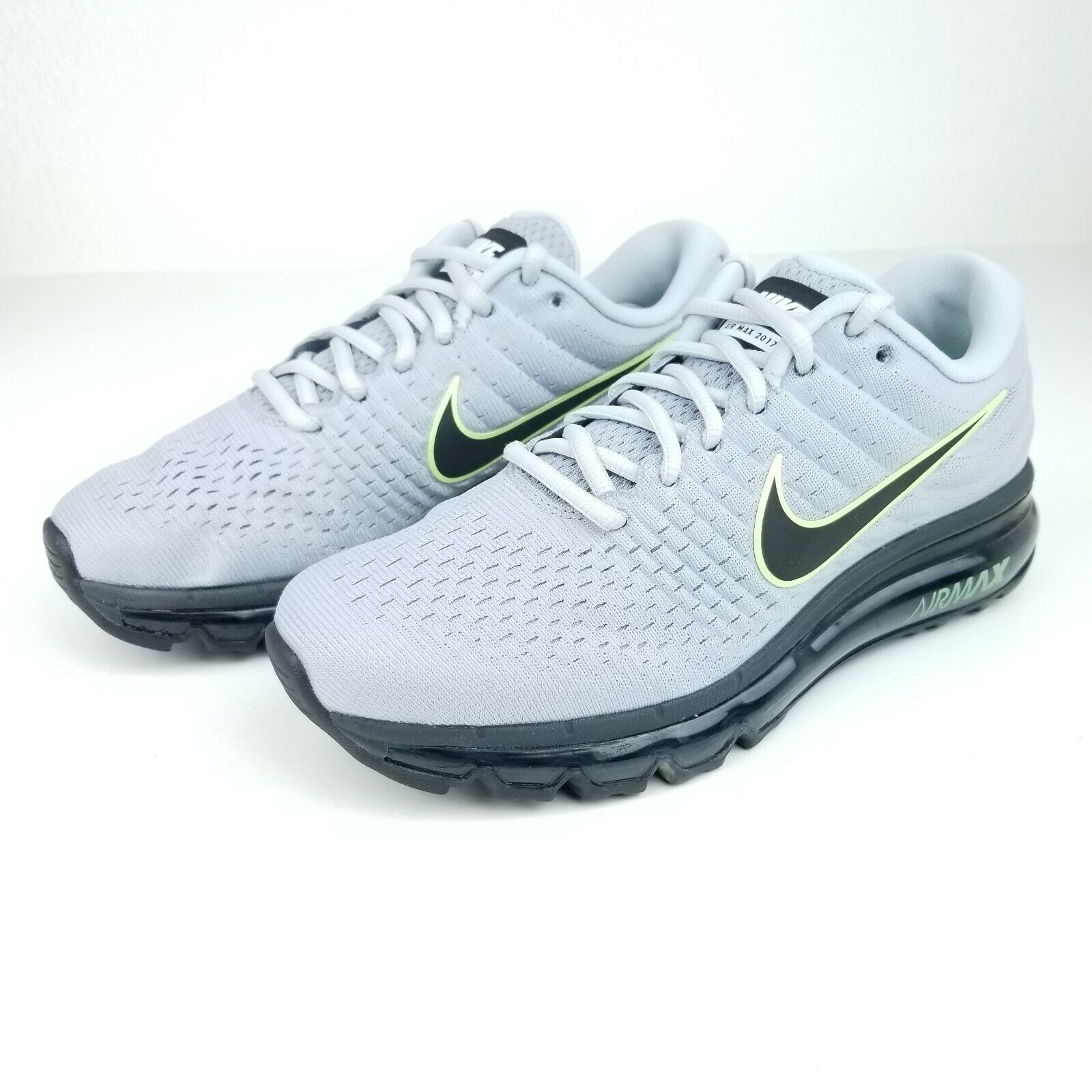 Periódico etiqueta Puntero  Nike Air Max 2017 Mens Running Shoes Gray Black 849559 012 Sizes 8-12 Click  the picture for more.. Ne… in 2020 | Nike air max, Running shoes grey, Most  comfortable sneakers
