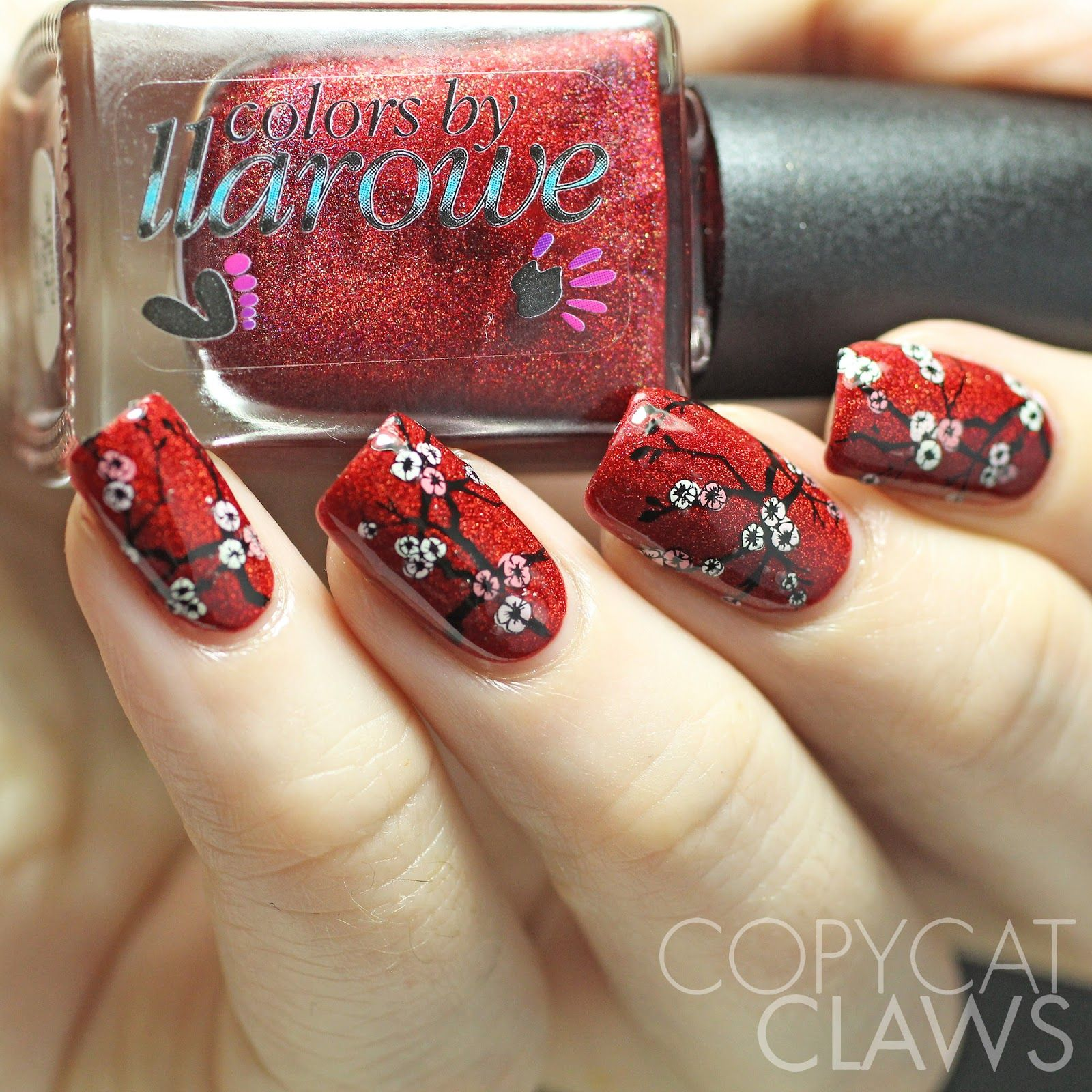 Copycat Claws Sunday Stamping Chinese New Year Nails These Are