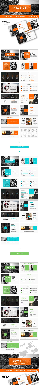 Pro Live Powerpoint Template Powerpoint Presentations Pinterest