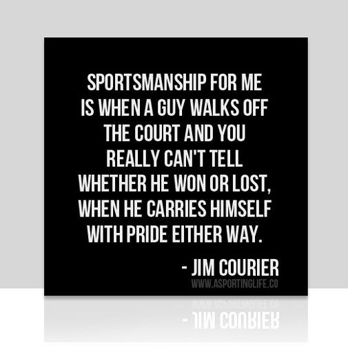 Motivational Quotes For Sports Teams Last Game: Sportsmanship Quotes On Pinterest