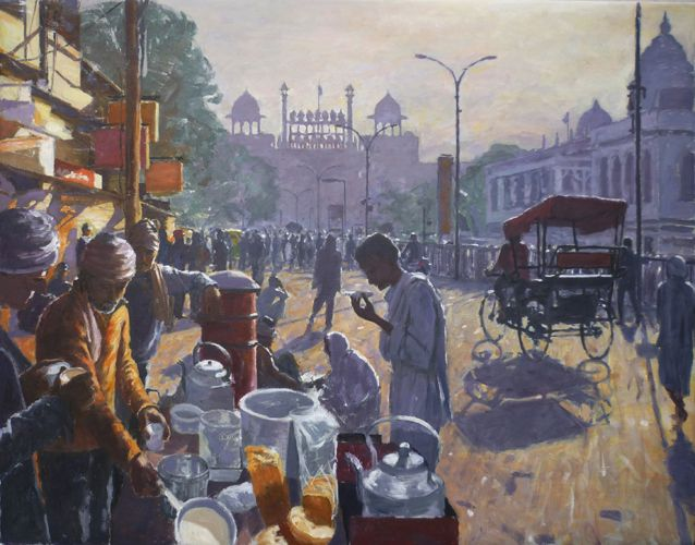patrick cullen 1 | India art, Indian paintings, Painting