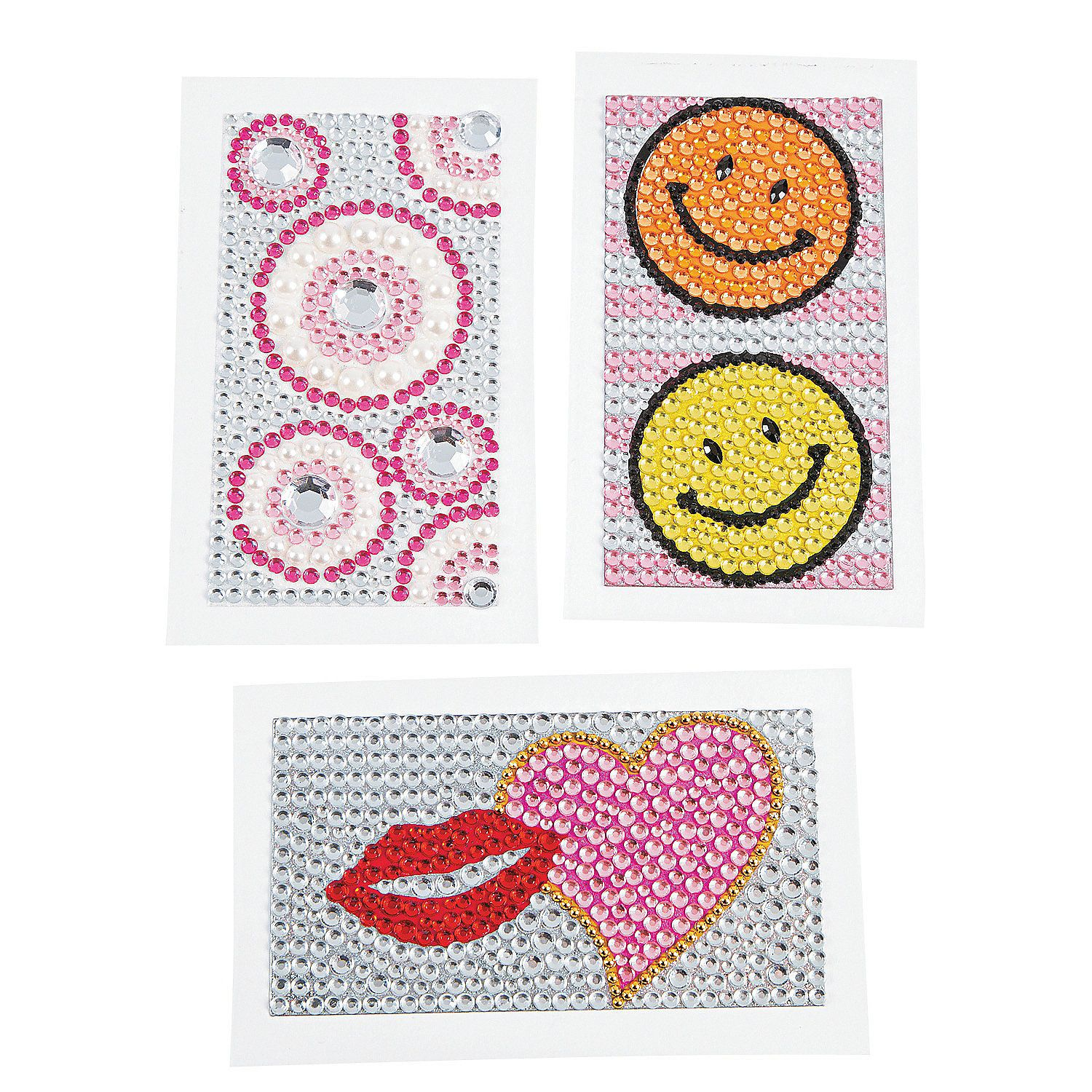 Jeweled Cell Phone Stickers - OrientalTrading.com