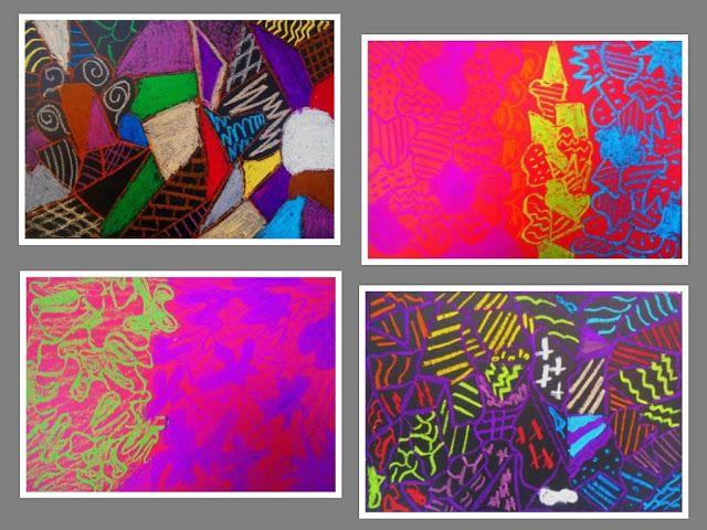 PUERTAS A LA IMAGINACIÓN: Composiciones abstractas ( segunda parte )