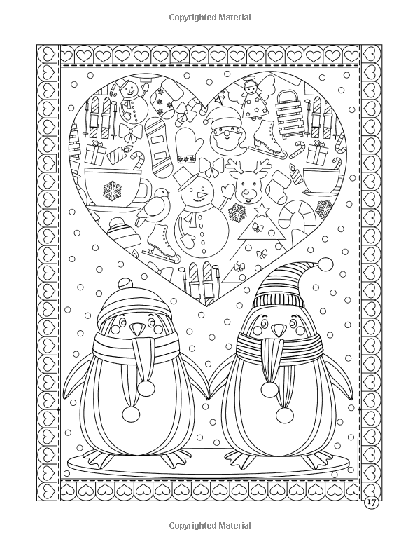 Amazon Christmas Treats A Holiday Coloring Book Journeys